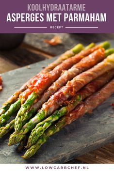 All my favorites wrapped into one! I love these because they are so easy to handle and look beautiful on a serving platter. If you are going to a party or hosting these are great to have so you kno… Super Healthy Recipes, Healthy Meals For Kids, Low Carb Recipes, Healthy Foods, Asperges Prosciutto, Grilled Bacon Wrapped Asparagus, Tapas, Bacon Crisps, Easy To Make Appetizers