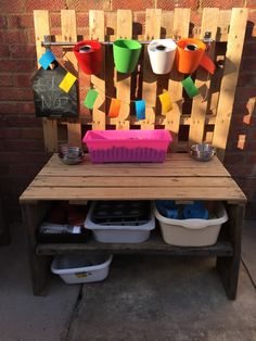 How to build a mud kitchen for outdoor play and creativity