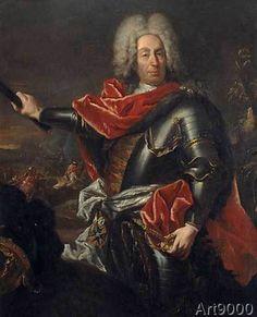 Giovanni Antonio Guardi - Matthias von der Scgulenburg / Guardi