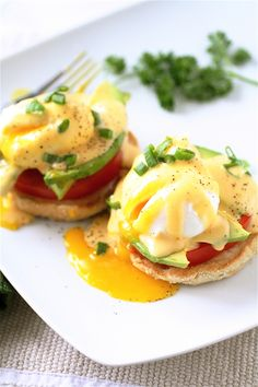 California Eggs Benedict...