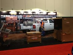 Knaack booth at the Grainger Show, March 11-14, 2013