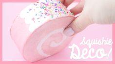 DIY Rollcake Squishy Decoration | SillySquishies DIY
