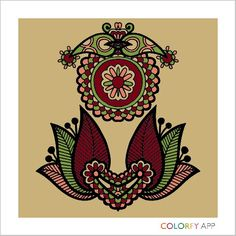 My current obsession: Colorfy. It's an app that you can just color things on.