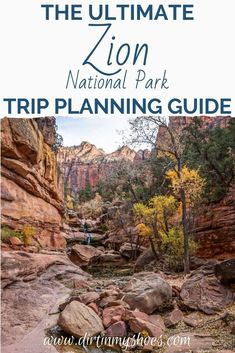 Planning your road trip or family vacation can be a challenge, that's why I created this Ultimate Guide to Zion National Park! This travel guide includes things to do, camping tips, amazing hikes to beautiful places and more! I also have a complete itinerary that will make sure you won't miss a thing! Let's make your trip fun and easy! Zion National Park, National Parks, Camping Hacks, Travel Guide, Things To Do, Beautiful Places, Road Trip, Vacation, Let It Be