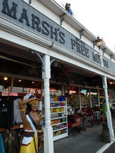 Marsh's Free Museum, Long Beach, Washington, July 2012. Home of roadside attraction, Jake, the Alligator Man