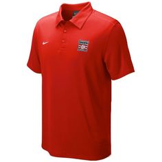 Nike National Baseball Hall of Fame Logo Polo - Red - $54.99