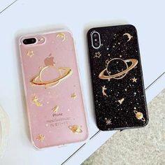 Planet Phone Case - iPhone X / 8 / 8 Plus / 7 / 7 Plus / / Plus / - Diy Telefonkasten Diy Iphone Case, Floral Iphone Case, Marble Iphone Case, Iphone Phone Cases, Matching Phone Cases, Cute Phone Cases, Pink Phone Cases, Iphone 7 Plus, Wallpaper Quotes