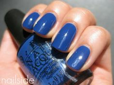 Nailside: OPI - Dating A Royal    4th of july color with blue and silver sparkles!