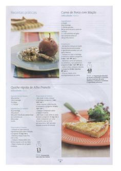 Revista bimby 02 Quiches, Bullet Journal, Beef, Food, Kale Stir Fry, Salads, Drinks, Pies, Meat