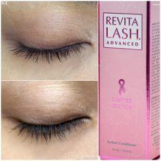 RevitaLash Advanced before/after taken 2 months apart - Makeup Box