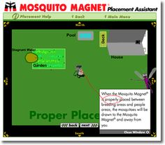 Not sure where to place your Mosquito Magnet® trap? Check out our interactive guide!