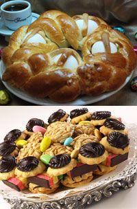 Casatella  4 Egg Bread & 2lb Cookie Tray
