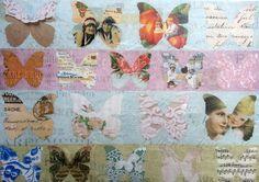 Rice Paper for Decoupage  Decopatch Scrapbooking Sheet Craft Vintage Butterflies