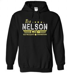 NELSON - #hoodie novios #sweater upcycle. GET YOURS => https://www.sunfrog.com/Birth-Years/NELSON-1614-Black-33531662-Hoodie.html?68278