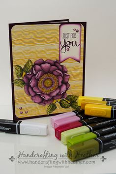 Stampin' Up! Blendabilities!  We now have alcohol markers :)