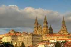 Santiago de Compostela is a Catholic cathderal in Galicia, Spain.  It is the reputed burial place of St. James the Greater and was the destination of the El Camino de Santiago. Photo by bernavazqueze, via Flickr