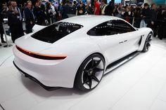 2015 Frankfurt Motor Show: Porsche Reveals 'Mission E' Concept Porsche Taycan, Used Porsche, Frankfurt, Porsche Mission E, Automobile, Ford, Sports Sedan, Toyota Prius, Sport Cars
