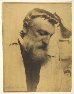 """""""Auguste Rodin"""" by Gertrude Käsebier"""