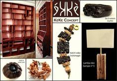 Créations en bois: bijoux, meubles, objets