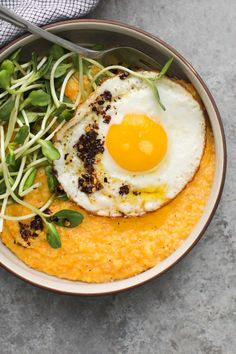 Sweet Potato Polenta