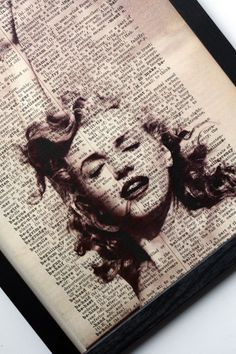 Marilyn Monroe art ~~ For more:  - ✯ http://www.pinterest.com/PinFantasy/gente-~-marilyn-monroe-art/