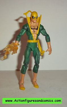 marvel universe IRON FIST heroes for hire greatest battles hasbro 3.75 inch action figures complete