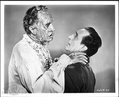 Still of Vincent Price and Basil Rathbone in Tales of Terror