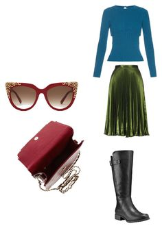 """""""Untitled #2661"""" by angfra ❤ liked on Polyvore featuring MCM, Emilia Wickstead, Topshop and Timberland"""