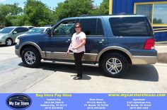 Congratulations Yolanda  from Lee Martinez at My Car Store Buy Here Pay Here!  http://deliverymaxx.com/DealerReviews.aspx?DealerCode=YOGM  #MyCarStoreBuyHerePayHere
