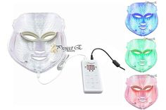 Reviews for the 3 best LED light therapy face masks (with 3 colors) in 2017 (for less than $120), how to use them and when to expect results!