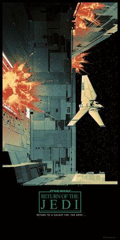 Puede que Star Wars tenga algún tipo de récord relacionado a la enorme cantidad de carteles inspirados en el universo de George Lucas que existen en el mundo. Los hay japoneses, extraños y muy detallados. Pero estos nuevos modelos de Bottleneck Gallery nos fascinan porque son puro arte retro, y los queremos todos.