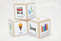 Consequence / Reward/ Chore Die by cucumberlime on Etsy, $6.00