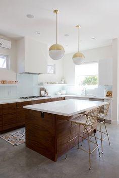 A Dreamy Modern Beach House in Redondo Beach - First Floor — Veneer Designs More