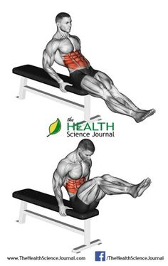 © Sasham | Dreamstime.com - Exercising for bodybuilding. Double twist on the bench