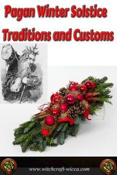 Pagan winter solstice traditions and customs- give blessings for the food that you're able to feast on and make sure you do share something with the less fortunate. Yule holiday is a season of magic, so embrace it and empower your life with it. Winter Solstice Rituals, Winter Solstice Traditions, Winter Solstice 2019, Yule Wicca, Wicca Witchcraft, Magick, Wiccan Sabbats, Green Witchcraft, Pagan Christmas