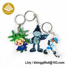 Keychain Design Customized one sets adversting promotional gift dota 2 keychain / cartoon key chain