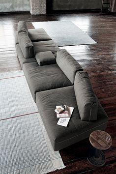 Divano Modulare In Tessuto SANDERS By Ditre Italia | Design Stefano  Spessotto, Lorella Agnoletto