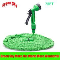 Hot Selling 75FT Garden Hose Expandable EU Hose Plastic Hoses Pipe With Spray Gun Magic Flexible Garden Water Hose