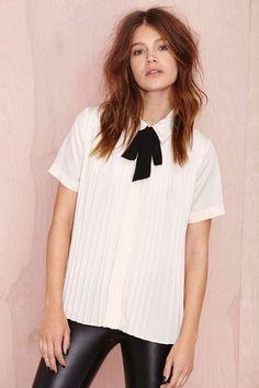 Nasty Gal Modding Off Blouse | Shop Shirts + Blouses at Nasty Gal