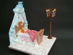 Sleeping Beauty - by lorraine mcgarry @ CakesDecor.com - cake decorating website
