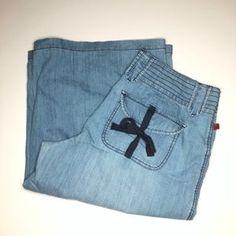 Fire Los Angeles Jeans | Vintage Fire Los Angeles Culotte Jeans Plus Size6 | Poshmark Jean Vintage, Size 16, Plus Size, Flare Jeans, Blue Denim, Light Blue, Polka Dots, Outfit, Boyshorts