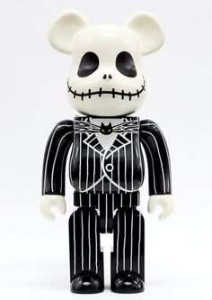 The Nightmare Before Christmas Jack Skellington Tim Burton 400% Bearbrick