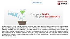Know about #TaxSaverFD and it's benefits to enjoy tax-free returns on savings under Section 80C.