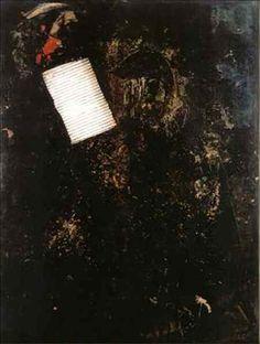 1993 Pintura: texturas. Professora Katie Vanschepenberg. Escola de Artes Visuais do Parque Lage.