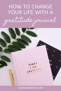 How to start a gratitude journal practice to add more joy and positivity to your day! // Creative Gratitude Journal Ideas From The GRATITUDE JAR #gratitude #gratitudejournal #positivevibes