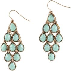 ALDO Dughi ($7.98) ❤ liked on Polyvore featuring jewelry, earrings, turquoise, artificial jewellery, imitation jewellery, aldo earrings, aldo and earrings jewelry