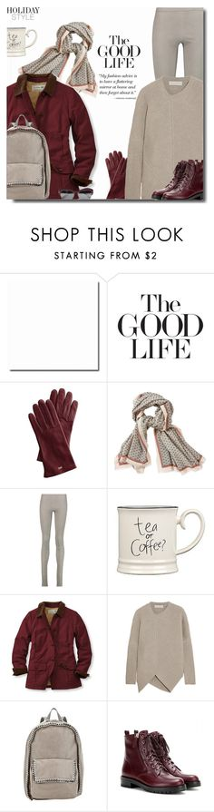 """""""Holiday Style: Leather Pants"""" by bynoor ❤ liked on Polyvore featuring ADAM, Aigle, Rick Owens, Expressions, L.L.Bean, STELLA McCARTNEY, Gianvito Rossi and Givenchy"""