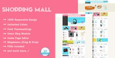 Shopping Mall Theme – Overview             Shopping Mall is specifically designed for various kinds of stores such as bags, electronic store, furniture, jewel...