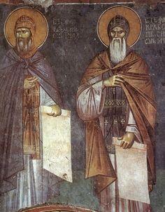 Fresco, Spiritus, Best Icons, Illuminated Manuscript, Color Pallets, Byzantine, Saints, Images, Painting