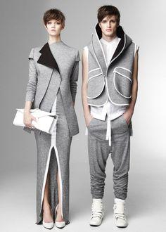 Fashion futurism. Neo-futurism VS Antiutopism ♦F&I♦